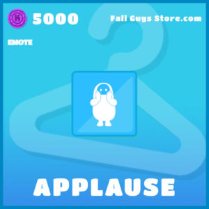 applause emote uncommon fall guys item