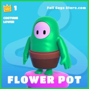 Flower Pot Costume Lower rare fall guys item