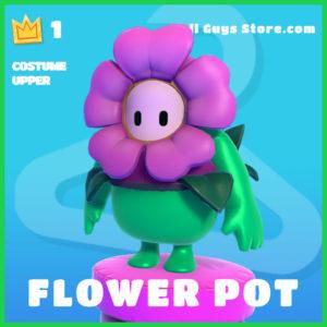 Flower Pot Costume Upper rare fall guys item