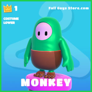 Monkey Costume Lower rare fall guys skin