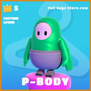 P-Body Costume Lower legendary fall guys item