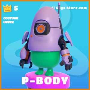 P-Body Costume Upper legendary fall guys item