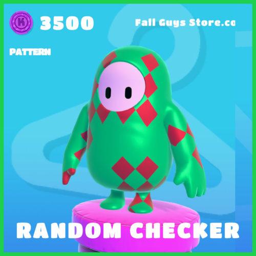 Random-Checker-Pattern