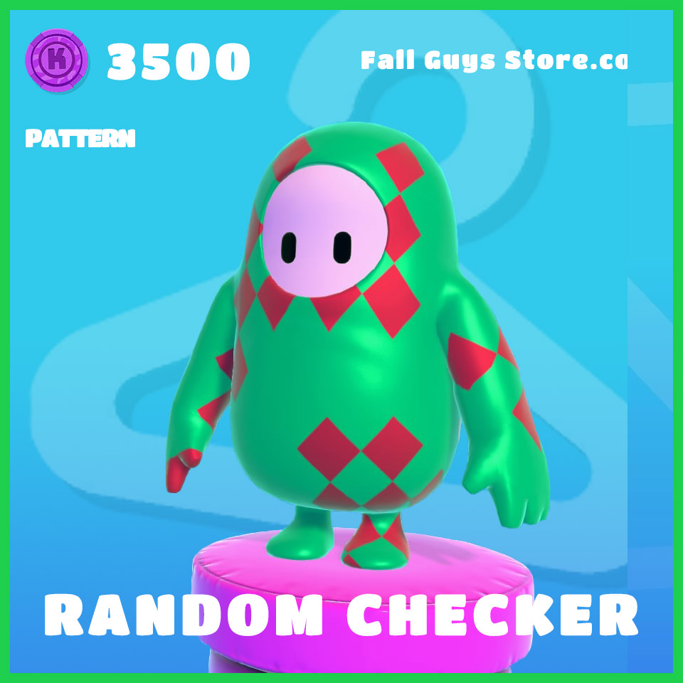 Random-Checker-Pattern