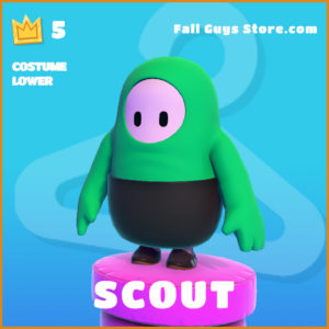 Scout Costume Lower legendary Fall Guys skin PC Exclusive