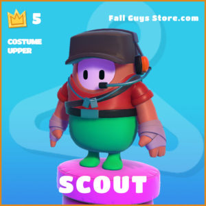 Scout Costume Upper legendary Fall Guys skin PC Exclusive