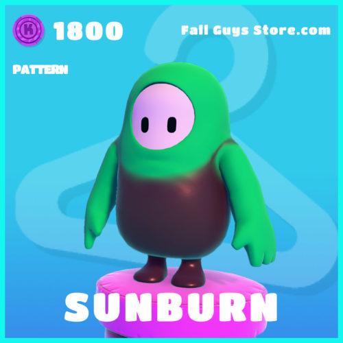 Sunburn-Pattern