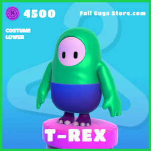 T-Rex Costume Lower Skin rare Fall guys item