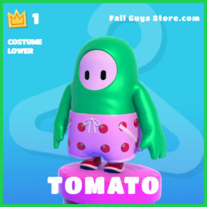 Tomato Costume Lower Rare fall guys item