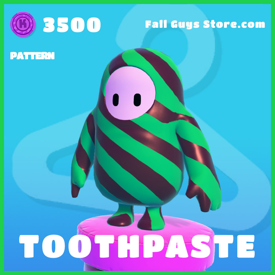 Toothpaste-Pattern