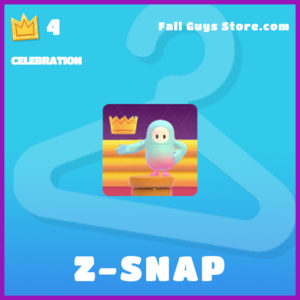 Z-Snap Celebration Epic fall guys item