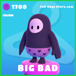 Big Bad colour rare fall guys skin item