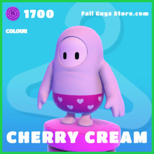 Cherry cream fall guys colour rare