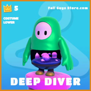 Deep Diver skin Lower legendary Fall Guys Item