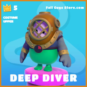Deep Diver skin Upper legendary Fall Guys Item