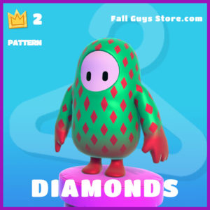 Diamonds Pattern Fall Guys Epic Item