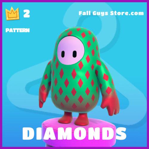 Diamonds-Pattern