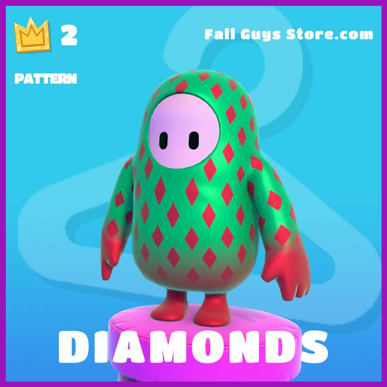 Diamonds-Pattern