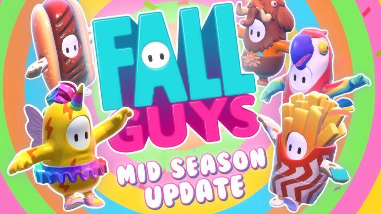 Fall Guys Season 1 Mid Season Update Patch Notes