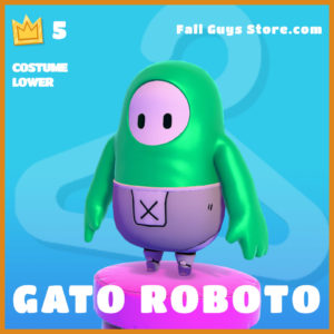 Gato Roboto costume lower legendary fall guys skin