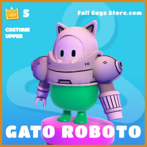 Gato Roboto costume upper legendary fall guys skin