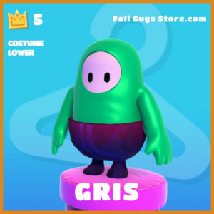 Gris Costume Lower Fall Guys Skin