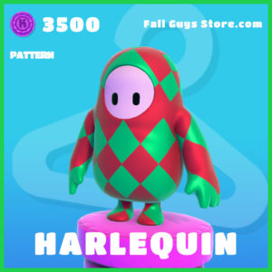 Harlequin Pattern rare fall guys skin