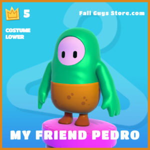 My Friend Pedro Costume Lower legendary fall guys skin