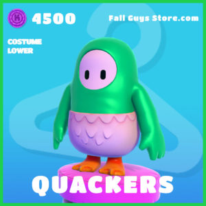 Quackers Costume Lower Fall Guys Skin