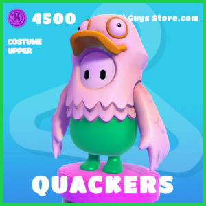 Quackers Costume Upper Fall Guys Skin