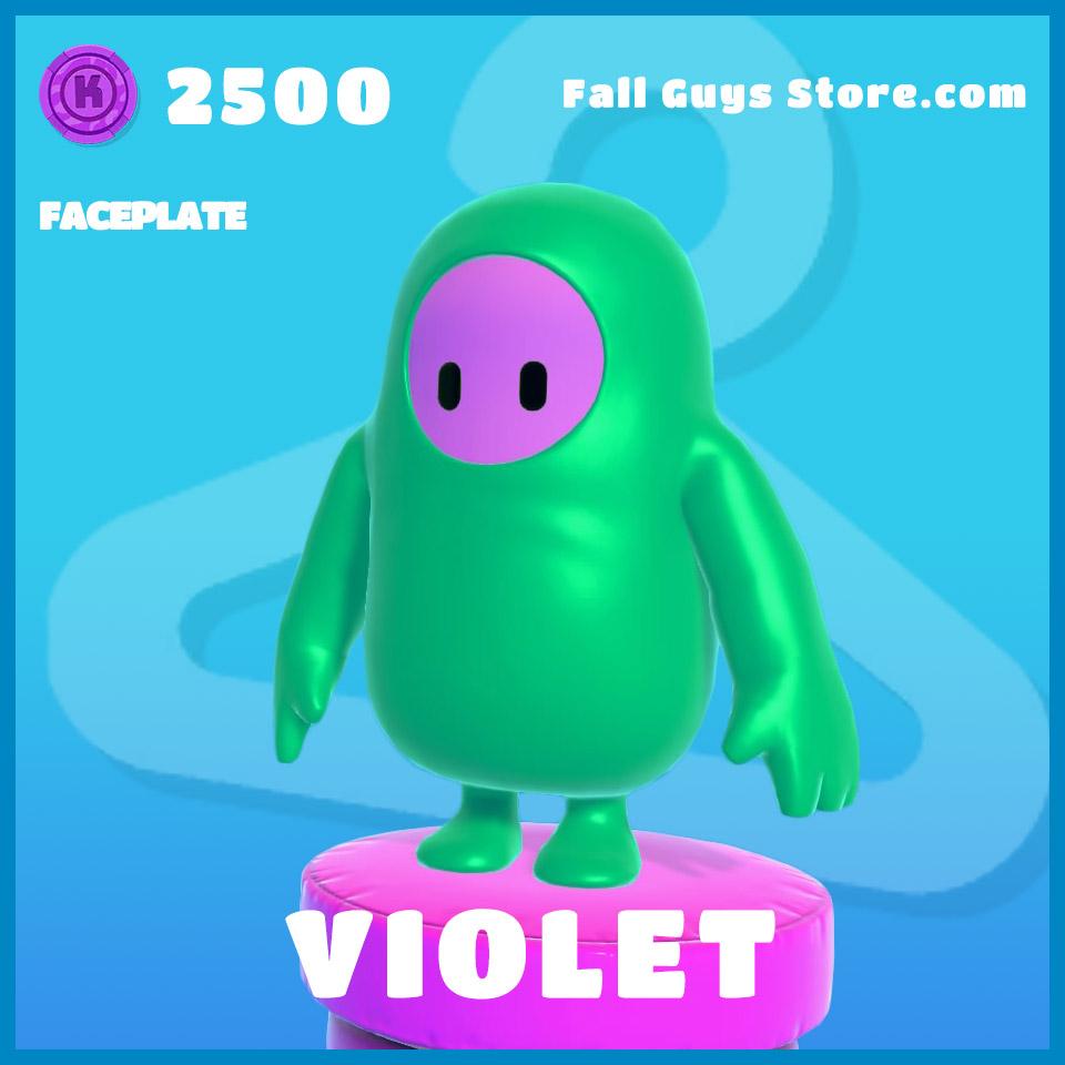 Violet-Faceplate