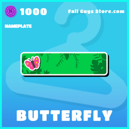 Butterfly-Nameplate