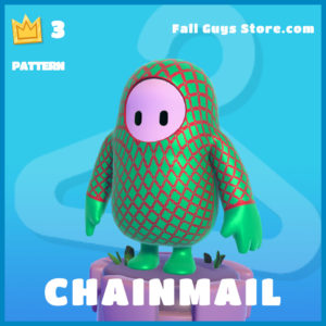 Chainmail Pattern Fall Guy Skin