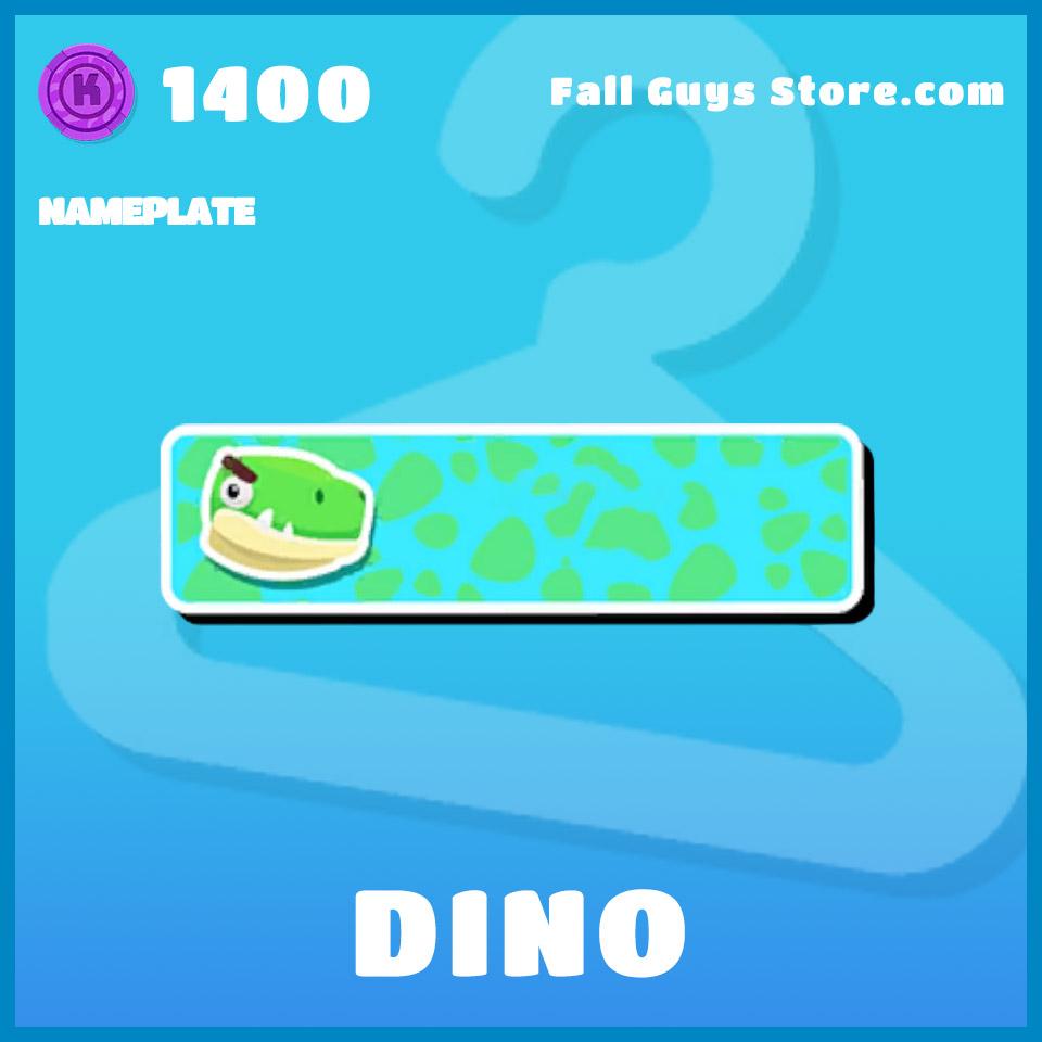 Dino-Nameplate