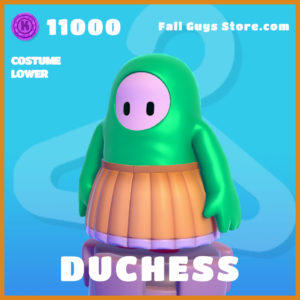 Duchess Costume Lower Fall Guys Skin