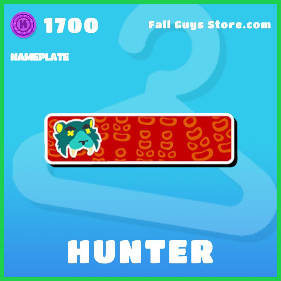 Hunter-Nameplate