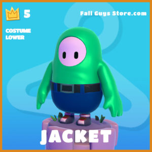 Jacket COstume Lower fall guys skin