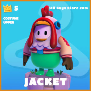 Jacket COstume Upper fall guys skin