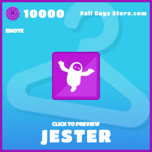 Jester Emote Fall Guys Item