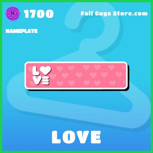 Love-Nameplate