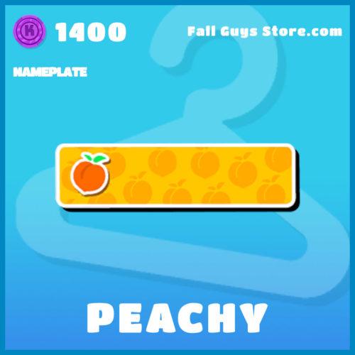 Peachy-Nameplate
