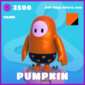 Pumpkin Colour Fall Guys Skin