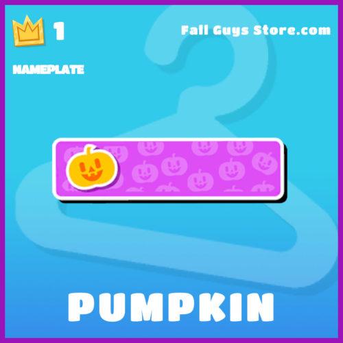 Pumpkin-Nameplate