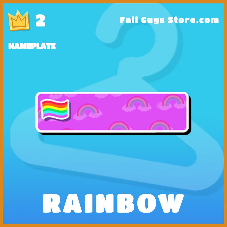 Rainbow-Nameplate