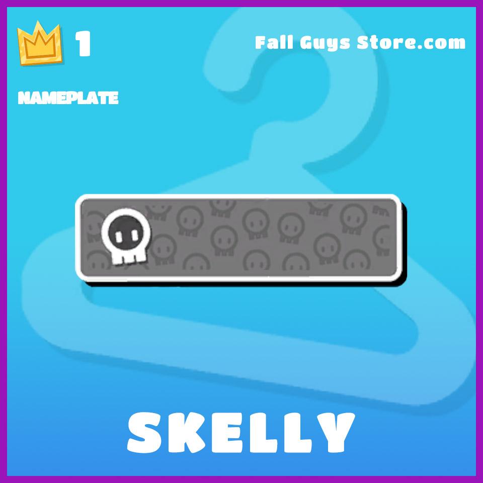 Skelly-Nameplate