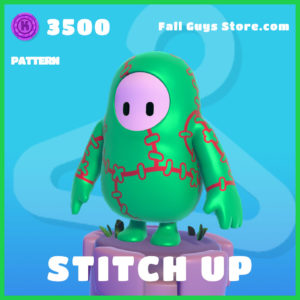 Stitch Up pattern fall Guys skin