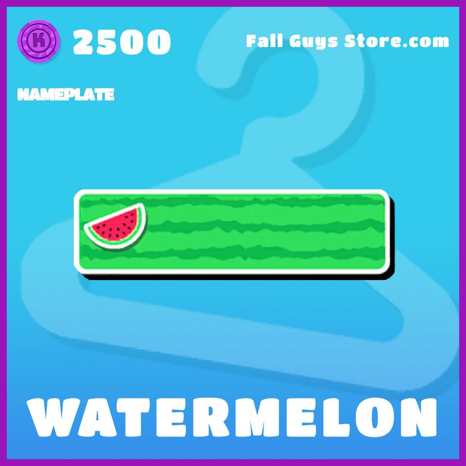 Watermelon-Nameplate