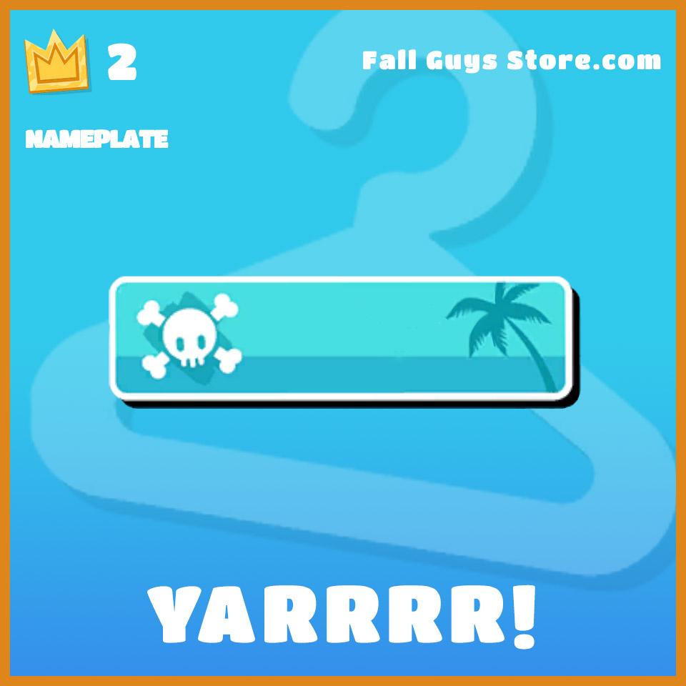 Yarrrr-Nameplate
