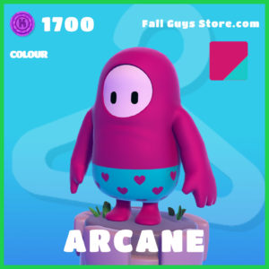 Arcane Colour Fall Guys Skin
