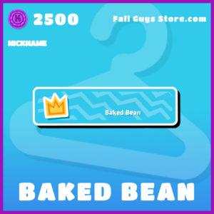 baked bean nickname fall guys item